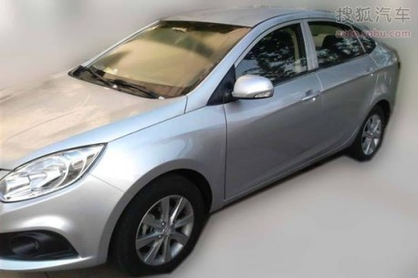 Spy Shots: JAC BII sedan is Naked in China