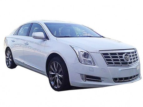 Spy Shots: first pictures of the China-made Cadillac XTS