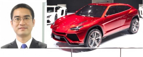 Lamborghini goes Chinese in China
