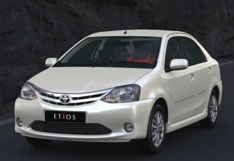 Toyota Etios comes to China next year