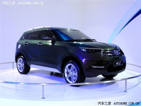 Spy Shots: Haima C2 SUV testing in China