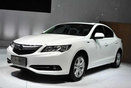 Acura ILX Hybrid launched on the Chinese auto market