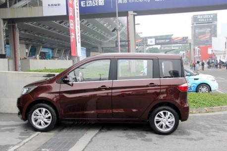 Chang'an Ouliwei arrives at the Guangzhou Auto Show
