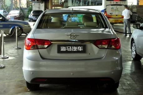Spy Shots: Haima V30 is very Naked in China