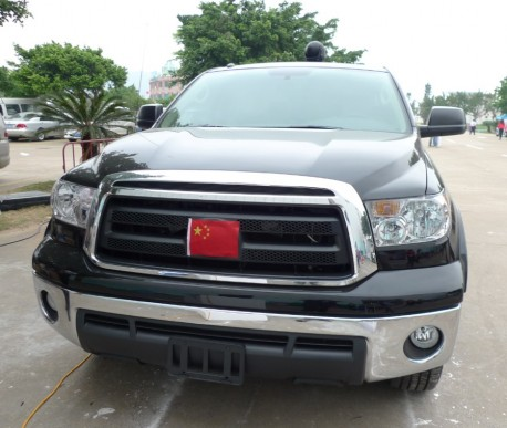 Toyota Tundra is a Patriot in China