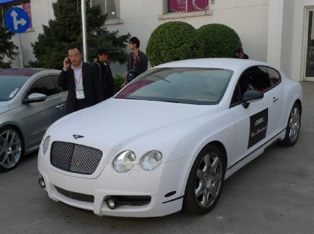 Mansory Bentley Continental GT is matte white in China