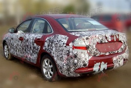 Spy Shots: Chery A4 gets ready for the Chinese auto market