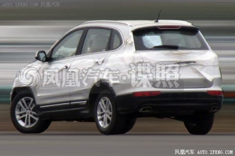 Spy Shots: Chery T21 will get a 2.0 & CVT