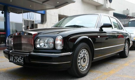 Spotted in China: Rolls-Royce Silver Seraph