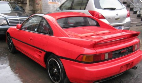Spotted in China: Toyota MR2