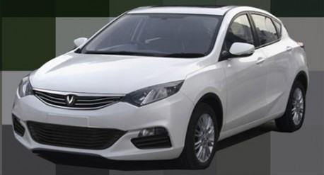 Spy Shots: Chang'an Eado XT is Naked in China