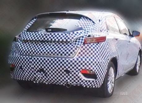 Spy Shots: Chang'an Eado XT seen testing in China