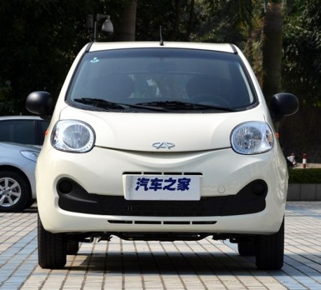 New Chery QQ from All Sides in China