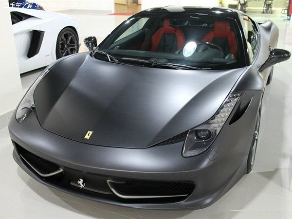 this is the best ferrari 458 italia i have seen in china so far an incredible matte gray wrap beautifully applied over the whole vehicle including the - Ferrari 458 Italia Matte Grey