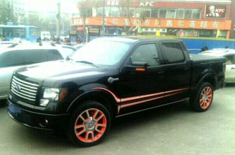 Spotted in China: Ford F-150 Harley Davidson Edition