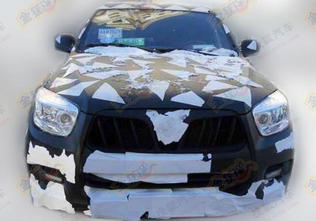 Spy Shots: Foton U201 SUV seen testing in China