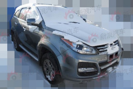 Spy Shots: facelifted Jiangling Yusheng SUV testing in China