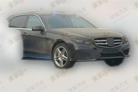 Spy Shots: new Mercedes-Benz E-L testing in China