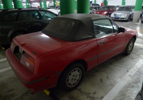 Spotted in China: Mercury Capri Convertible