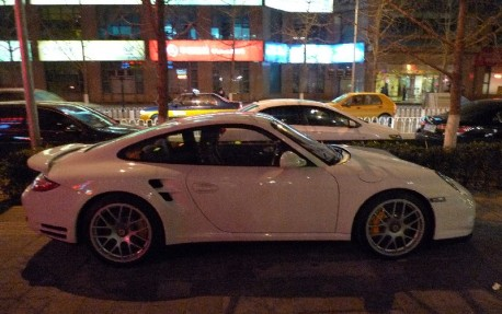 Spotted in China: 997 Porsche 911 Turbo S