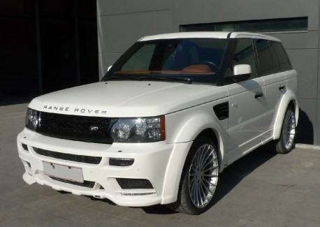 Hamann Range Rover Sport is White in China