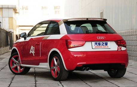 Audi A1 China Limited Edition launched on the Chinese auto market