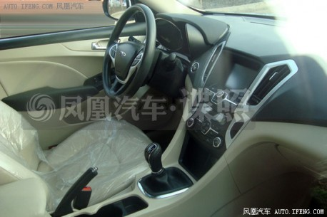 Spy Shots: Chery A4 is Ready for the Chinese car market