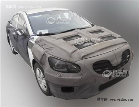 Spy Shots: mysterious Hyundai sedan seen testing in China again