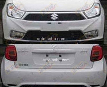 Spy Shots: facelift for the Suzuki SX4 in China