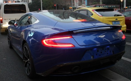 First Aston Martin Vanquish on the Road in China