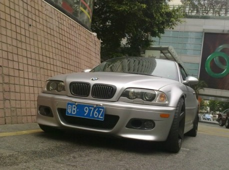 Spotted in China: E46 BMW M3 Convertible