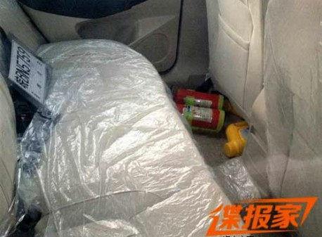 Spy Shots: Chery T21 seen testing in China