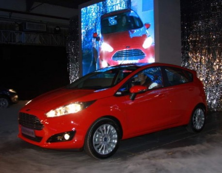 Facelifted Ford Fiesta launched on the Chinese car market