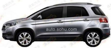 Patent Applied: Lifan is going for the Suzuki SX4 in China