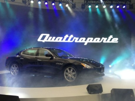 New Maserati Quattroporte hits the Chinese auto market