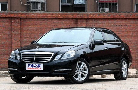 Spy Shots: new Mercedes-Benz E-L seen testing in China