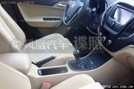 Spy Shots: MG5 Sport testing in China