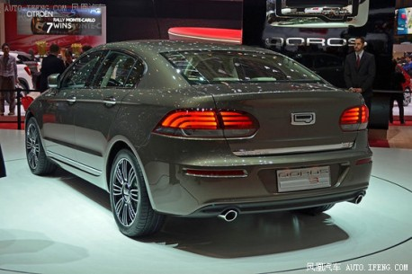 Qoros 3 Sedan debuts on the Geneva Motor Show
