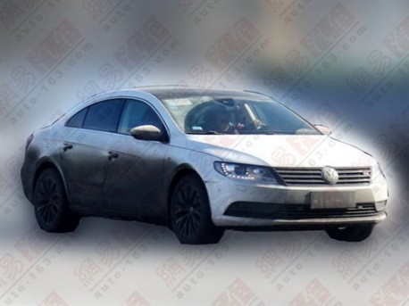 Facelifted Volkswagen Passat CC will hit the China car market in October