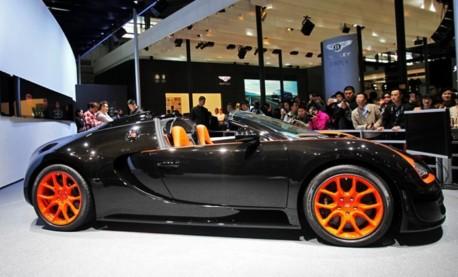 Bugatti Veyron Vitesse WRC debuts on the Shanghai Auto Show