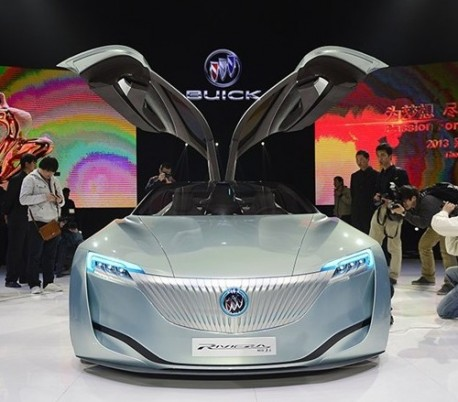 Buick Riviera concept debuts on the Shanghai Auto Show