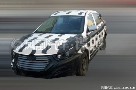 Spy Shots: Besturn B30 sedan seen testing in China