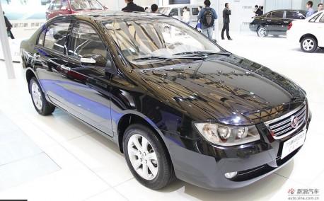 Spy Shots: new Lifan 630 looks like a very Cheap Lexus
