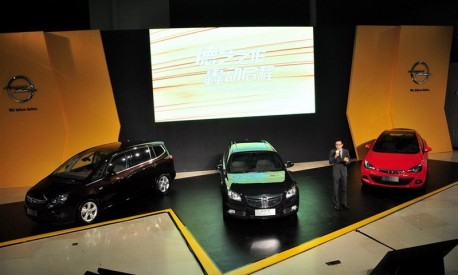 Opel will launch three new cars on the Chinese market