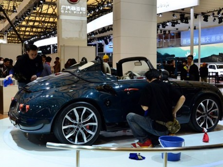 PGO Cevennes arrives at the Shanghai Auto Show, with BMW power