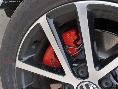 Volkswagen Sagitar GLI arrives at the Dealer in China