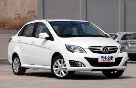 Beijing Auto E-series sedan hits the Chinese car market