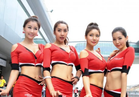 The Girls of the China Touring Car Campionship