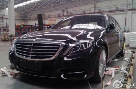Spy Shots: new Mercedes-Benz S-Class arrives in China