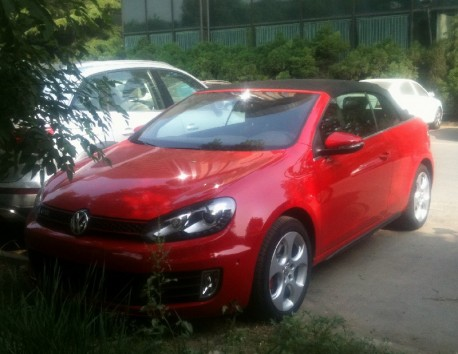 Volkswagen GTI Cabriolet hits the Chinese car market